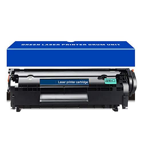 HGSA Cartuchos de tóner compatibles modelo Q2612A 12A (1 paquete, negro), uso para impresora láser HP LaserJet M1005 M1005MFP M1319F 1010 1012 1015 3015 3020 3030