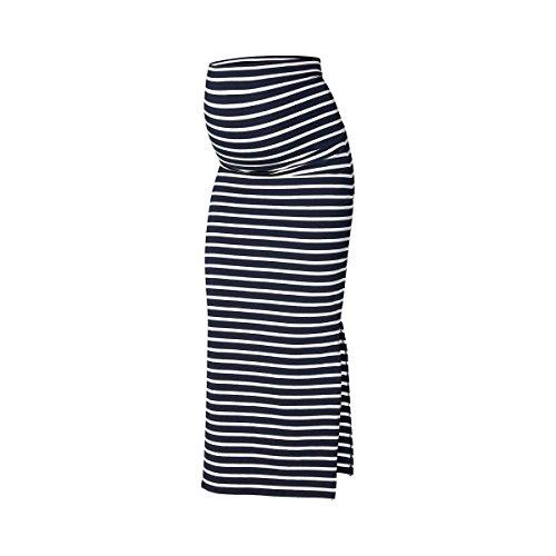 MAMALICIOUS Damen MLLEA ORG Y/D Tube Maxi Skirt A. O. Rock, Navy Blazer, L