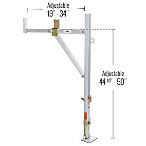 Apex NDALR Metallic Drill Aluminum Ladder Rack