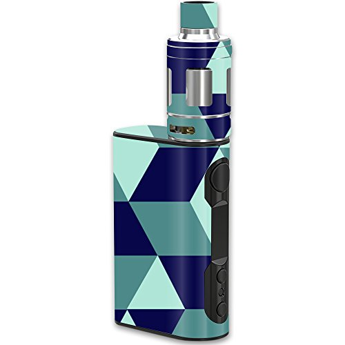 MightySkins Skin Compatible with Eleaf iStick QC Kit – Geo Tile | Protective, Durable, and Unique Vinyl Decal wrap Cover | Easy to Apply, Remove, and Change Styles | Made in The USA