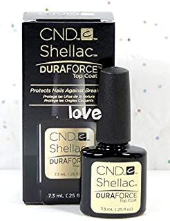 CND Shellac GelColor Nail Polish/Base/Top/Brand New Gel Color #1 - Choose Any Small DuraForce Top Coat 0.25oz