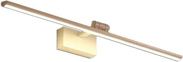 HEG Eenvoudige Moderne Led Mirror Headlights Badkamer Toilet Mirror Cabinet Light Waterdicht en anti-mistlampen Nordic Bad...