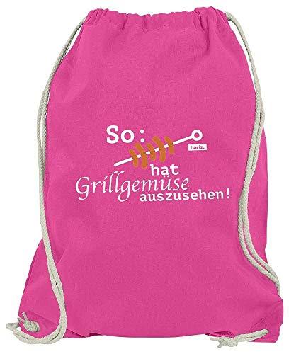 HARIZ Turnbeutel So Hat Grillgemüse Auszusehen Grillen Männer Plus Geschenkkarte Pink One Size