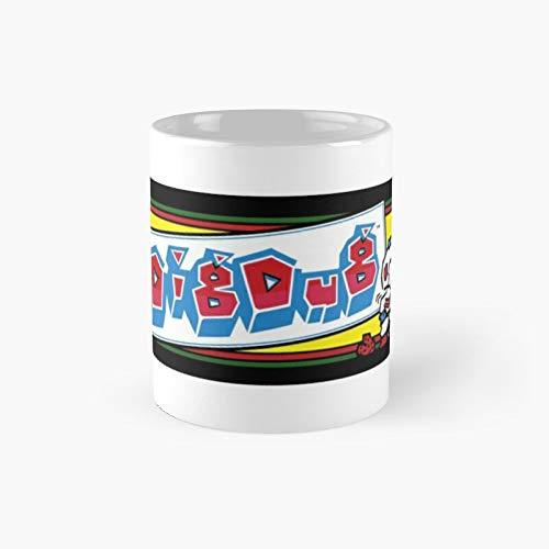 Dig Dug Arcade Taza clásica | El mejor regalo divertidas tazas de café de 325 ml