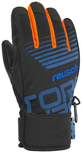 Reusch Jungen Torbenius R-TEX XT Junior Handschuhe, Black/Brilliant Blue, 6