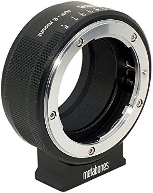 Metabones MB_NFG-E-BM1 Cable para cámara fotográfica Adaptador - Adaptador para Objetivo fotográfico (Negro)
