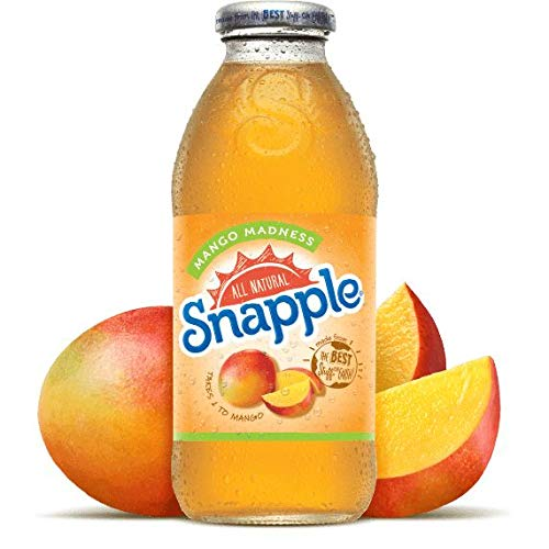 Snapple Mango Drink 12 x 473 ml