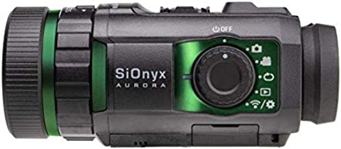 SIONYX Aurora I Full-Color Digital Night Vision Camera with Hard Case I Infrared Night Vision Monocular with Ultra Low-Light IR Sensor I Weapon Rated, Water Resistant, WiFi, Compass & GPS Capable.