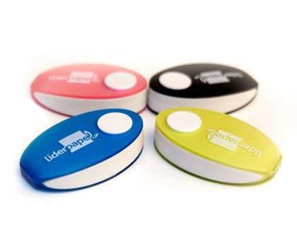 Liderpapel - Er05 Goma Con Protector De Plástico