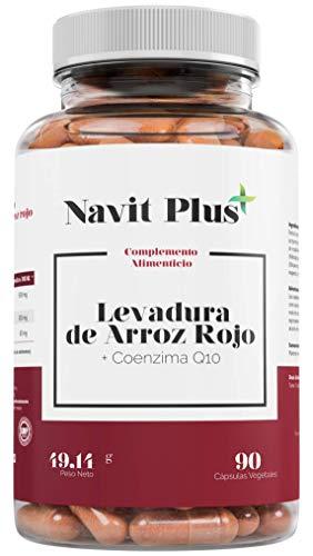 Levadura de arroz rojo alta concentración + 30mg de Coenzima Q10 por cápsula |...