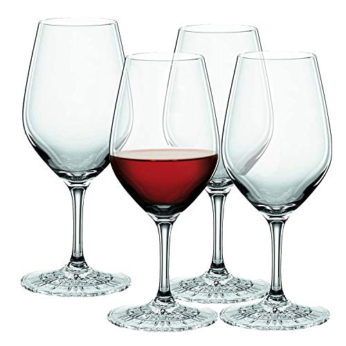 Spiegelau & Nachtmann, 4-teiliges Tastinggläser-Set, Probiergläser, Kristallglas, 210 ml, Perfect Serve, 4500173