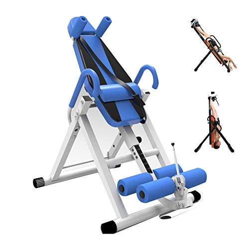 Buy Discount Gravity Heavy Duty Inversion Table,Inversion Table Foldable with Comfortable Lumbar pad...