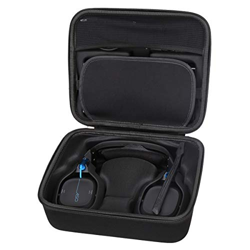 Aproca Hart Schutz Hülle Reise Tragen Etui Tasche für Astro Gaming A50 Headset (Black)