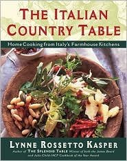 The Italian Country Table 1st (first) edition Text Only