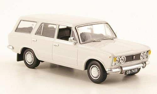 Fiat Polski 125P Kombi, hellgrau, 1973, Modellauto, Fertigmodell, IST Models 1:43