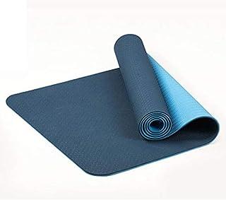 Cikuso 6Mm Esterilla de Yoga Antideslizante de Dos Colores