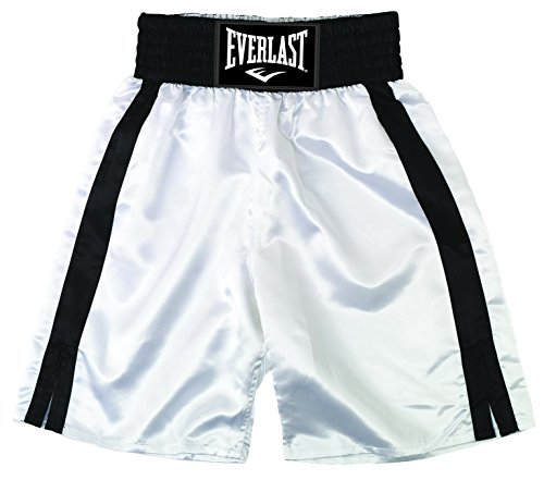 Everlast Erwachsene Boxen - Shorts, Weiß/Schwarz, M