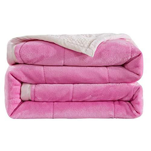 LLCXL deken, dik, gezellig, onderhoud, zachte deken, geschikt voor reis/outdoor/decoratie