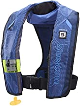 Bluestorm Gear Stratus 35 Inflatable PFD Life Jacket (Deep Blue) | US Coast Guard Approved Automatic/Manual Life Vest for Adults