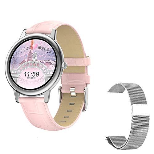 GULU 2021 Neue E10 Ultra Thin Smart Watch Frauen Full Touch Screen Bluetooth Sport Tracker Fitness Watch Smartwatch Für Android Ios,H