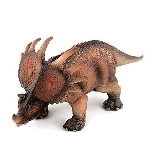 Hging Jurásico Juguetes Mundo del Dinosaurio del Triceratops Juguete Grande Dinosaurio Realista Suave Figura Educativo For Niños Juguetes For Niños Niñas Niños Pequeños Mejor