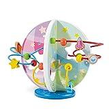 Circuits de Motricité -Jeux en Bois pour Enfants Maze Roller Coaster avec Petites Perles de Jeu Jeux éducatifs et Jouets éducatifs en Bois ,Jouets de Tri et de Rangement, Cadeau d'anniversaire