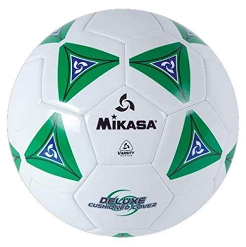 Mikasa Serious Balón de fútbol, Color Verde Claro y Blanco, tamaño 5