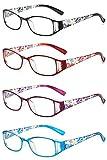 VEVESMUNDO Montures de lunettes femme