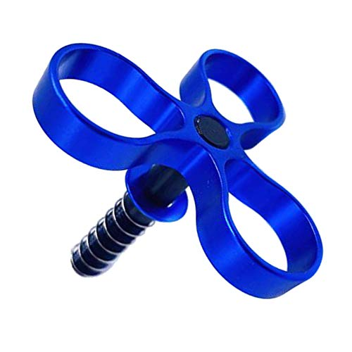 FITYLE Bicicletas plegables de aleación de aluminio llave de bisagra mejorada para bicicleta Brompton, alto rendimiento - Azul
