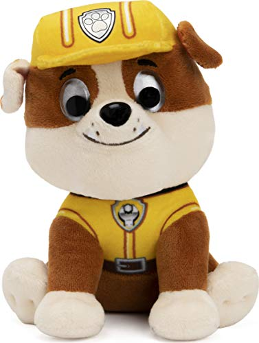 """GUND Paw Patrol Rubble in Signature Construction Uniform for Ages 1 and Up, 6"""""""