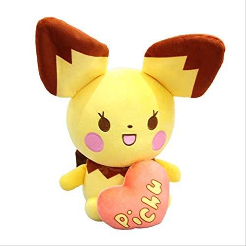 N A Muñeca De Peluche Pokemon Peluches Peluche Amor Pika Raichu Regalos 20cm Rosado