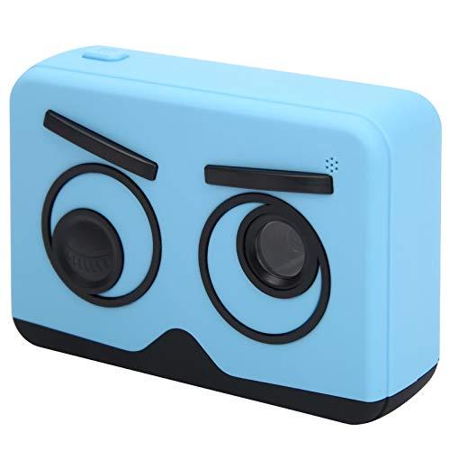 Zunate Cámara para niños, Pantalla IPS de 2 Pulgadas, cámara Digital para niños, Linda cámara de grabación de Video portátil, Regalo de Festival, cumpleaños para niños(Azul)