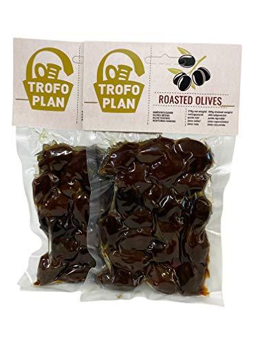 TrofoPlan Olive al Forno 200 g, Pacco da 2