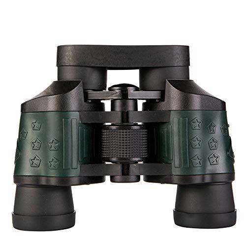 MOKEANGC - Prismáticos 60x60, visión nocturna de baja luz, objetivos de película roja, alta potencia, apto para senderismo, observación de aves, juegos deportivos profesionales, conciertos, caza