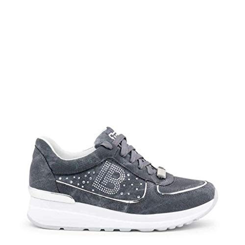 Laura Biagiotti 688_Splash Sneakers Femme Bleu 38