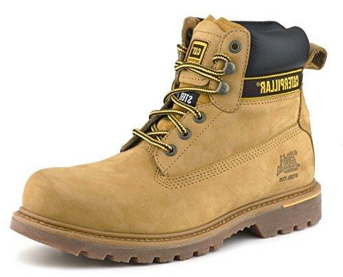 Cat Footwear Holton, Botas de Trabajo Hombre, Marrón (Brown 003), 44 EU