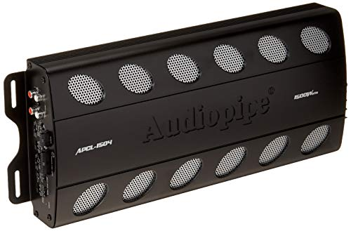AudioPipe APCL1504 1500 Watt Max 4 Channel Amplifier