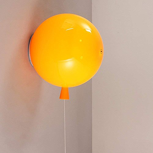 ZHICHUAN Moderne Minimalistische Kreative Wandleuchte Bunte Luftballons Lampen Acryl Wohnzimmer Schlafzimmer Esszimmer Kinderzimmer Persönlichkeit Wandleuchte Familie unerlässlich