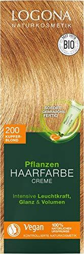 Logona Bio PHF Creme 200 kupferblond (6 x 150 ml)