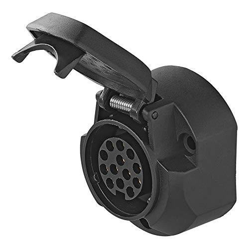 Stekkerdoos Jaeger 13-polig met micro switch