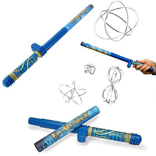 Wiivilik Kit de diversión palillo de la Mosca eléctrico estático Varita Ciencias de la Educación Juguetes increíble levitación Varita con la Varita mágica 10pc Flying Formas