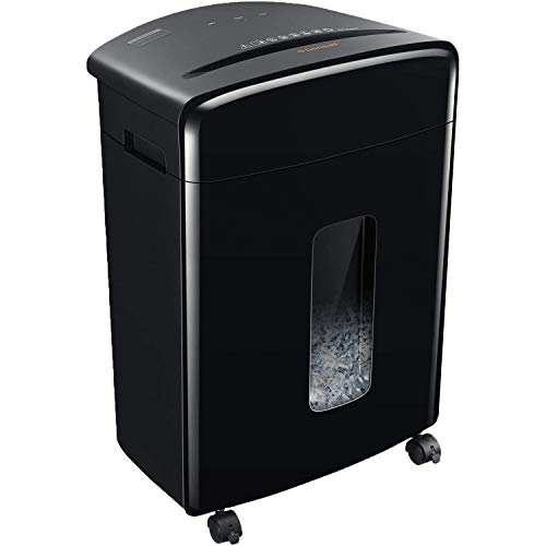 Bonsaii 20-Sheets Heavy Duty Cross-Cut Paper and Credit Card Shredder with 6.6 Gallon Pullout Basket...