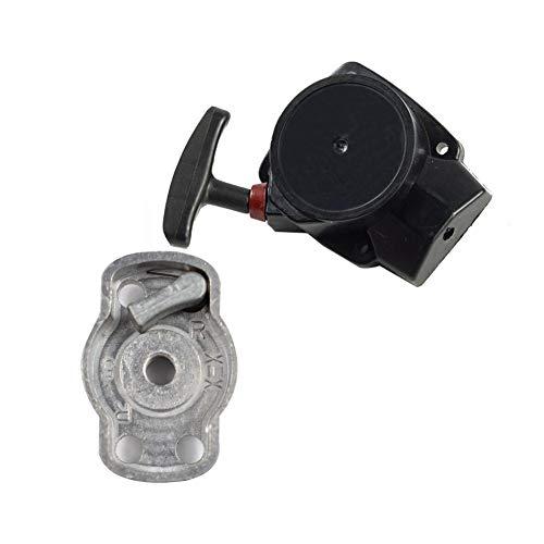 fan pin dian zi 34f Rasenmäher Abzieher Universal-Recoil Starter Benzinmotor-Generator Trimmer Mäher Kreissäge Mower Zubehör