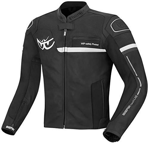 Berik Sportivo Motorrad Lederjacke (UK 46 EU 56)
