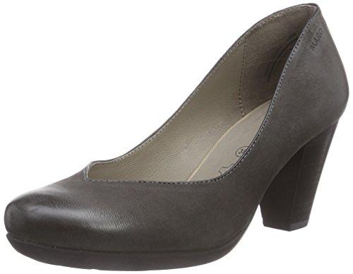 Marc Shoes Damen Elle Pumps, Grau (Asphalt 120), 40 EU