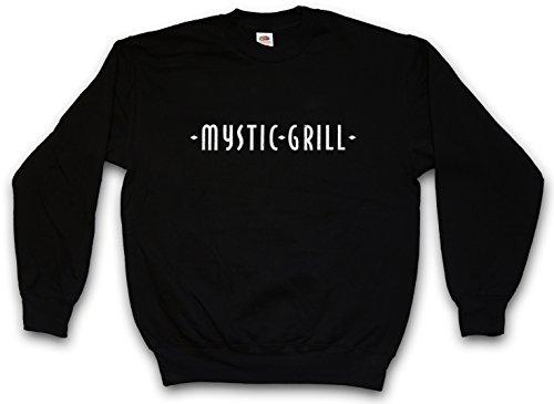 Urban Backwoods Mystic Grill Sweatshirt Pullover Schwarz Größe M