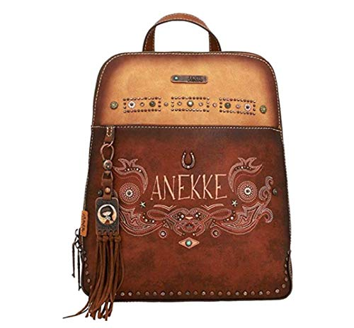 Anekke | Mochla marrón new western | Accesorios y Complementos para Mujer