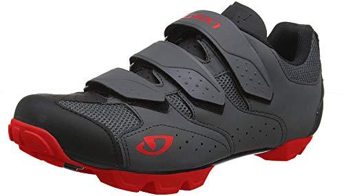 Giro Unisex– Erwachsene Carbide R II MTB Trail|Cyclocross Schuhe, Black/red, 42