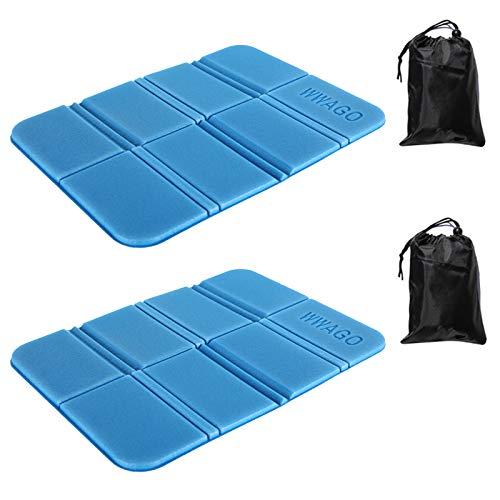 2 Stück Faltbares Sitzkissen Wasserdicht Sitzkissen ,Outdoor Thermokisse Sitzunterlage Kinder Sitzkissen für Outdoor Camping Picknick Wander