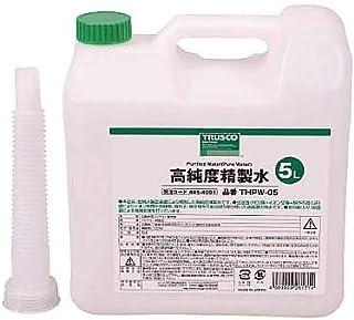 TRUSCO(トラスコ) 高純度精製水 5L THPW-05